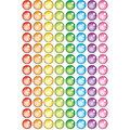 Rainbow Gel superSpots Stickers 800 Per Pack, 12 Packs
