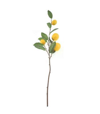 Fresh Picked Spring 33'' Lemon Spray