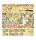 Graphic 45 Double-Sided Paper Pad 8\u0022X8\u0022 24/Pkg-Garden Goddess, 8 Designs