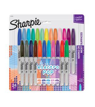 Sharpie Fine Markers 24pk-Electro Pop