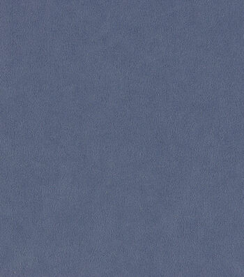 """Crypton Upholstery Fabric 54""""-Suede Blue Curaco"""