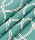 Robert Allen @ Home Lightweight Decor Fabric 55\u0022-Helix Ogee Turquoise