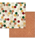 Yuletide Carol Double-Sided Cardstock 12\u0022X12\u0022-Traditional
