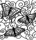 Crafter\u0027s Workshop Templates 6\u0022X6\u0022-Flutterby