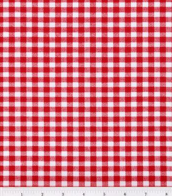 Keepsake Calico Cotton Fabric 44''-Large Check
