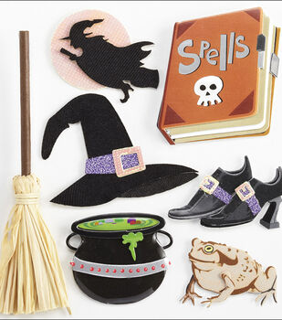 Jolee's Boutique Dimensional Stickers-Witches