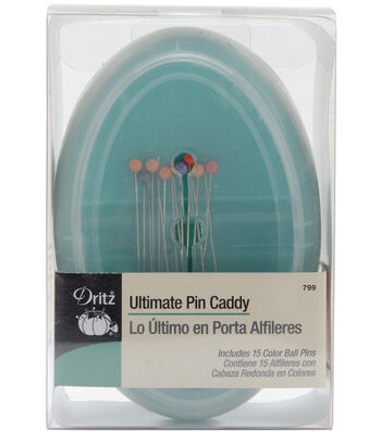 Dritz Ultimate Pin Caddy With 15 Pins