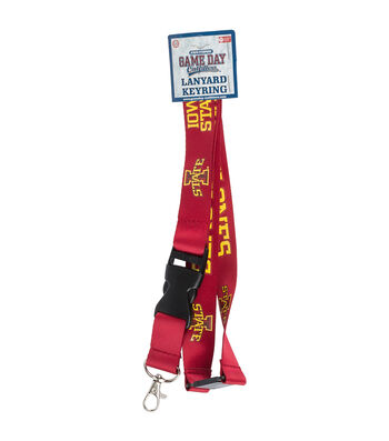 Iowa State University Cyclones Lanyard Keychain