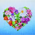 Diamond Dotz Diamond Facet Art Kit-Flower Heart