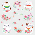 York Wallcoverings Wall Decals-Lucky Cat