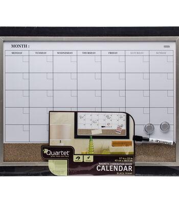 "Magnetic Combination Calendar Board 17""X23""-Two-Tone"