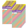 Silly Stars superSpots Stickers 800 Per Pack, 12 Packs