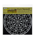 The Crafter\u0027s Workshop Rebekah Meier 6\u0027\u0027x6\u0027\u0027 Stencil-Skylight
