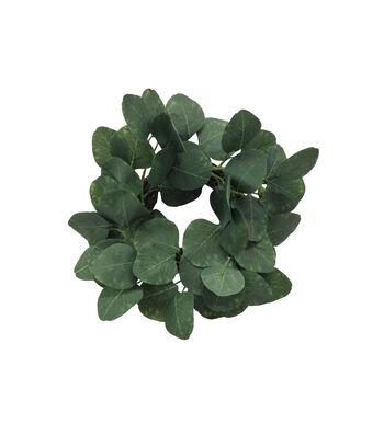 Fresh Picked Spring Femininity Greenery Mini Wreath