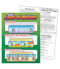 Newton's Laws of Motion Learning Chart 17\u0022x22\u0022 6pk