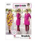 Simplicity Pattern 8221 Misses\u0027 & Plus Size Mimi G Style Dress