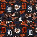 Detroit Tigers Cotton Fabric -Vintage