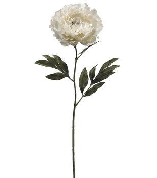 """Bloom Room 30"""" Single Peony Stem-Pearl"""