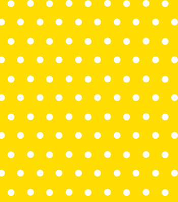 Tutti Fruitti Embellished Basic Fabric Aspirin Dot Gold