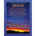 Carson-Dellosa Names of Jesus Chart 6pk