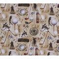 Novelty Cotton Fabric-Vintage Golfing