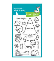 "Lawn Fawn Clear Stamps 4""X6""-Critters In The Forest, , hi-res"