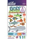 Sticko 156 Pack Flip Stickers-Ocean Animals