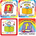 Carson Dellosa I Learned My Memory Verse Stickers, 120 Per Pack