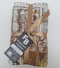 Pre-Cut Quilt Fabrics 18\u0022x21\u0022-Masculine Brown