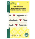Dritz Quilting Twill Tape Labels 1 yds-Happiness is Handmade