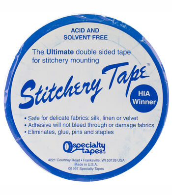 """Stitchery Tape For Framing-1-1/2""""X30' Roll"""