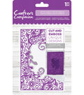 Crafter\u0027s Companion 4.25\u0027\u0027x5\u0027\u0027 Cut & Emboss Folder-Petite Florals