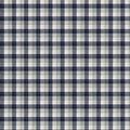 Super Snuggle Flannel Fabric-Skylar Navy Gray Plaid