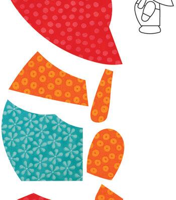 Go! Fabric Cutting Dies-Overall Sam