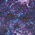 Anti-Pill Plush Fleece Fabric-Space Galaxy Purple
