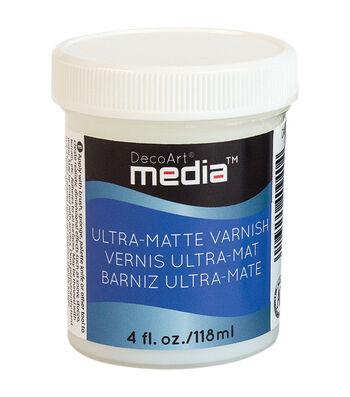 DecoArt Media 4 fl. oz. Ultra Matte Varnish