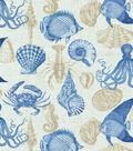 Solarium Outdoor Fabric 54\u0022-Sealife Marine