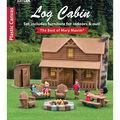 Leisure Arts Plastic Canvas Log Cabin Set