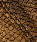 Cosplay By Yaya Han Metallic Faux Fur Scales Fabric 57\u0022-Copper