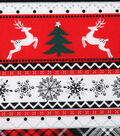 Christmas Cotton Fabric 43\u0022-Stripe