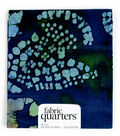 Fabric Quarters Cotton Fabric 18\u0022-Assorted Brown Batiks