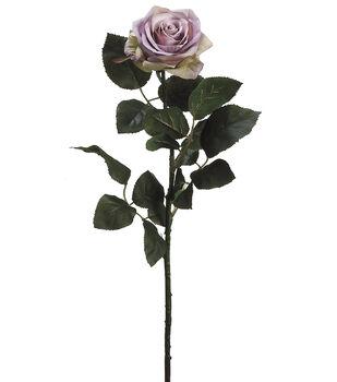 "Bloom Room 27.5"" Confetti Rose Stem-Lavendar"