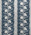 Home Decor 8\u0022x8\u0022 Fabric Swatch-Upholstery Fabric Eaton Square Garland Indigo