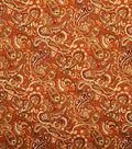 Home Decor 8\u0022x8\u0022 Fabric Swatch-Jaclyn Smith Birmingham-Tabasco