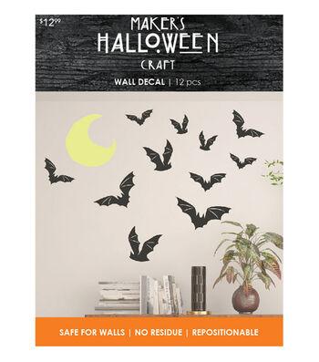 Maker's Halloween Wall Decal-Bats