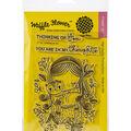 Waffle Flower Crafts Clear Stamps 4\u0027\u0027X6\u0027\u0027-Thinking Of You
