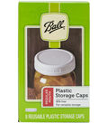 Ball 8 pk Wide Mouth Reusable Plastic Storage Caps