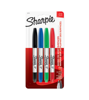 Sharpie Twin Tip Markers 4pk-Mixed
