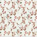 Harvest Cotton Fabric-Soft Berry Swirl Cream