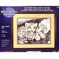 Dimensions Paint By Number Kit 14\u0027\u0027X11\u0027\u0027-Snow Leopard Cubs